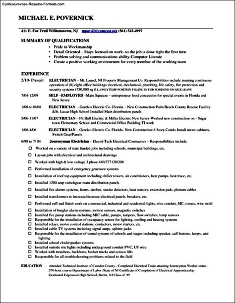 Self Employed On Resume by Self Employed Resume Templates Free Sles Exles