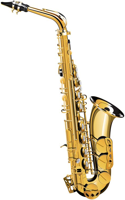 library  saxophone picture royalty  stock png png files clipart art