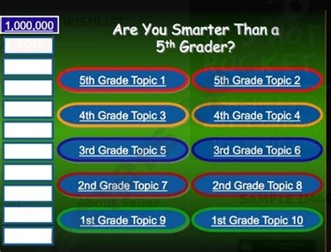 Are You Smarter Than A 5th Grader Powerpoint Template by 15 Best Show Themed Images On