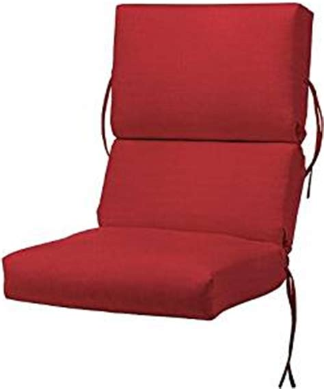 bullnose high back outdoor chair cushion 4