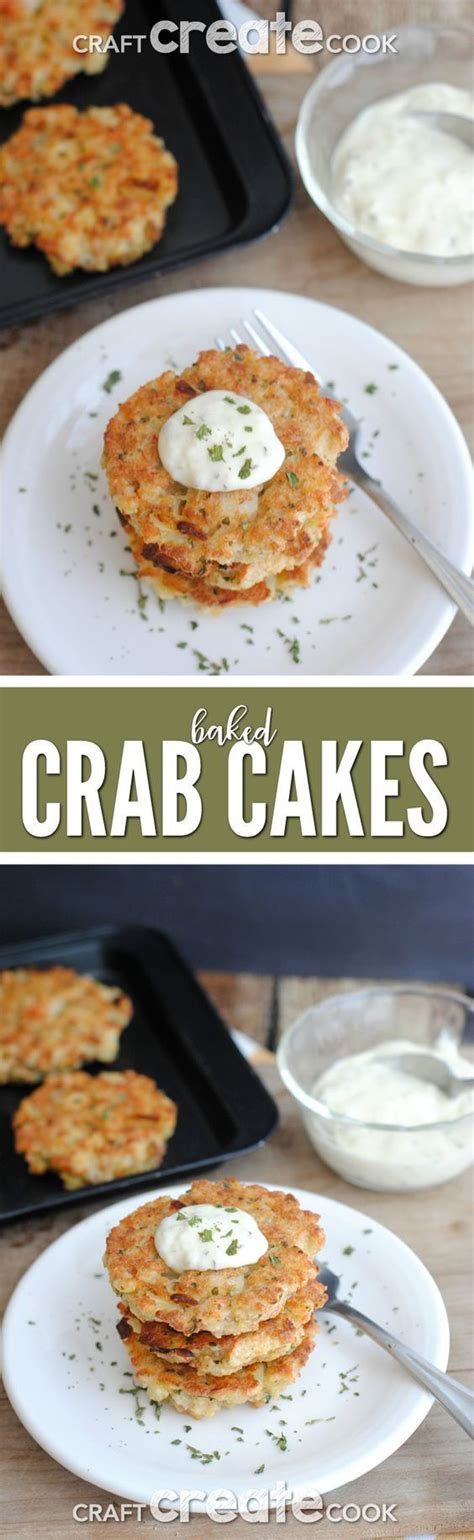 Crab cakes should be all about the crab — no questions asked. Baked Crab Cakes | Recipe | Crab cake recipes, Healthy crab cakes, Baked crab cakes