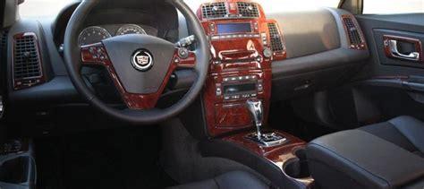 find cadillac cts interior burl wood dash trim kit set
