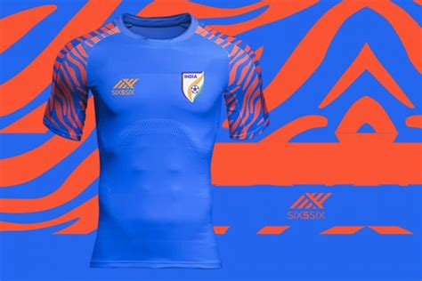 Buy the new Indian national team jersey by Six5Six