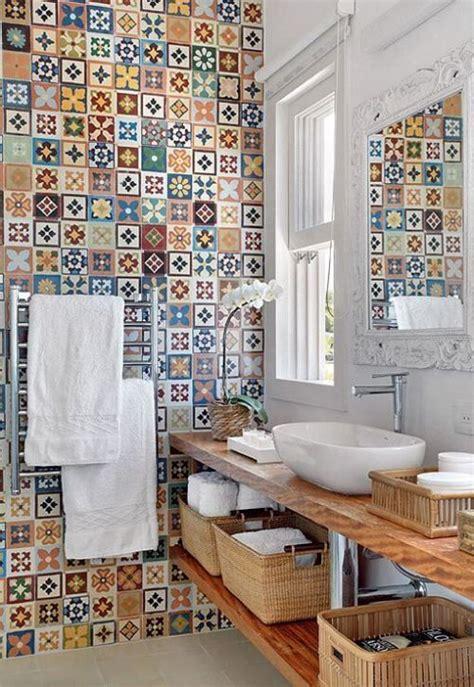 Badezimmer Fliesen Bunt by Fliesen Deko Ideen Extravagantes Badezimmer Mit