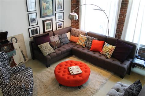 industrial living room vintage industrial loft space eclectic living room Vintage