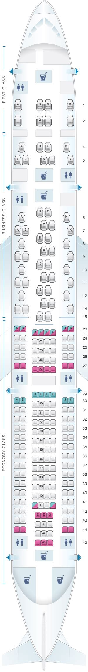 airbus a340 300 stoelindeling seat map swiss airbus a340 300 seatmaestro