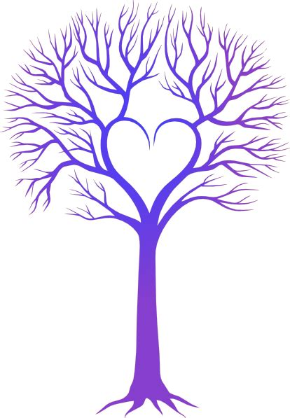 Heart Tree Clip Art