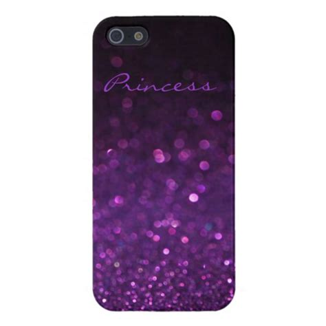 glitter iphone 5 purple glitter iphone 5 5s zazzle