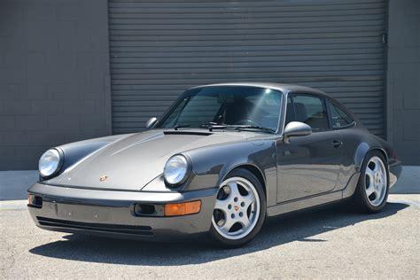 1992 Slate Grey Metallic Porsche 964