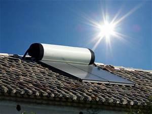 chauffe eau solaire ballon d39eau chaude solaire With chauffe eau solaire maison