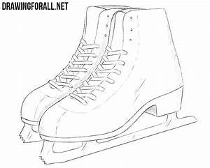 How to Draw Ice Skates | DrawingForAll.net