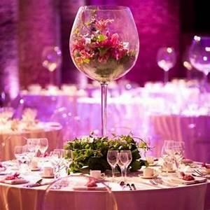 Vase Verre A Vin Mariage Gant 50cm Decoration Mariage