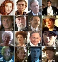 Titanic Movie Characters Names