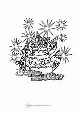 Birthday Coloring Printable Cards Happy Colouring Sheets Drawing Adults 40th Slavyanka Colour Unicorn Worksheets Drive2vote Getdrawings Candacefaber Golfrealestateonline Iworldnew sketch template