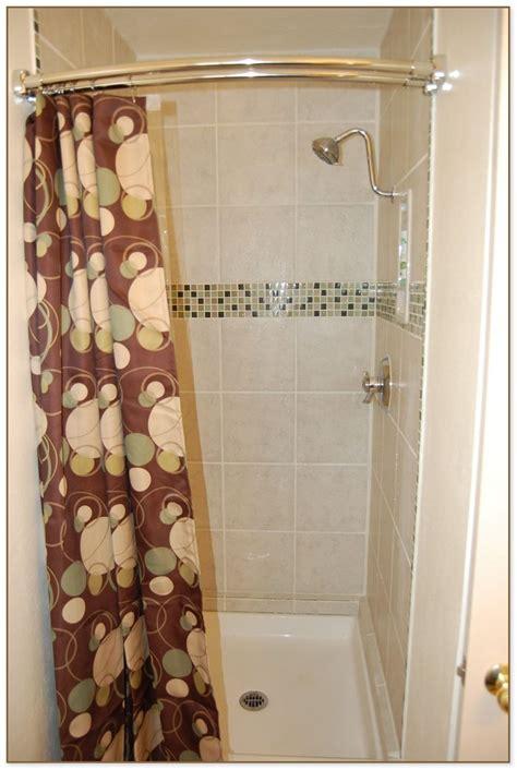 shower stall curtain shower stall curtain rod