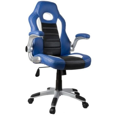 fauteuil bureau sport fauteuil de bureau sport racing bleu et noir