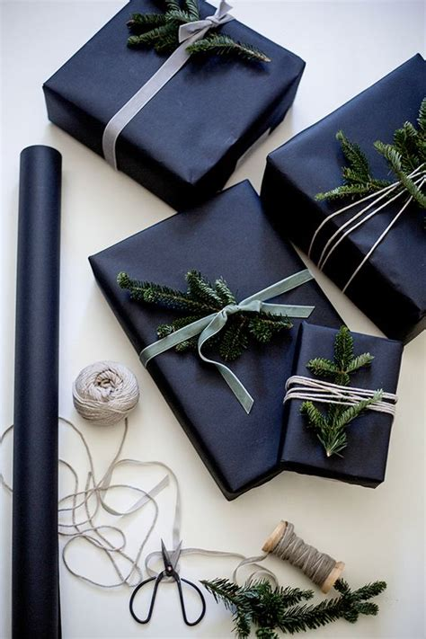 edgy christmas gift wrapping ideas  recreate easily