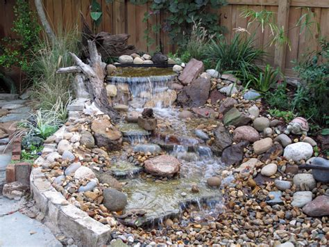 waterfall feature designs pondless waterfall