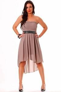 robe de soiree en taupe robe bustier tendance et elegante With robe de soirée à petit prix