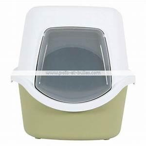 Litiere Chat Fermée : zolux cathy filtre maison de toilette pour chat ~ Melissatoandfro.com Idées de Décoration