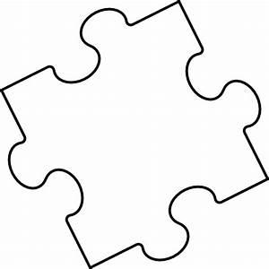 Puzzle Piece 2 Clip Art at Clker.com - vector clip art ...