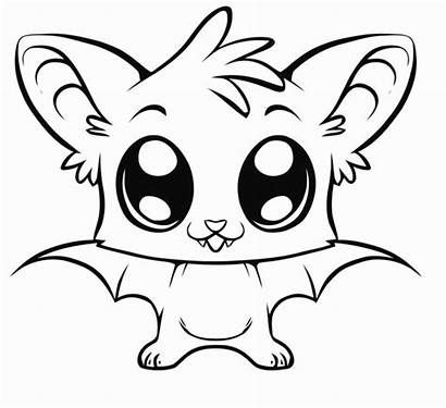 Coloring Pages Animals Animal Easy Drawings Eyes