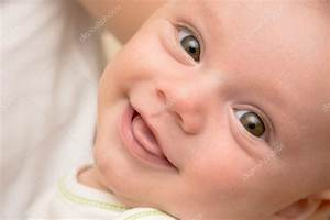 Smiling baby face — Stock Photo © sdenness #12742388