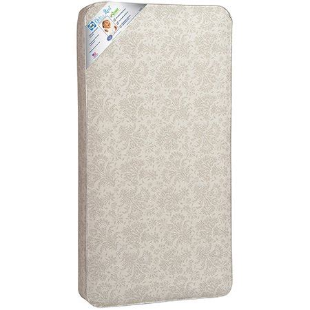 walmart baby mattress sealy baby ortho rest crib and toddler mattress