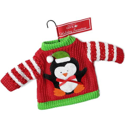 Penguin Ugly Christmas Sweater Ornament  The Ugly Sweater