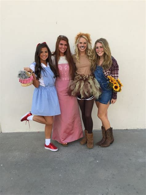 wizard  oz halloween group costume random pinterest