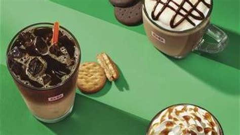 Dunkin' Donuts Offering Girl Scout Cookie Inspired Coffee Cool Coffee Mugs Images Gift Packs India Lovers Uk Marble Glass Top Table Small Oval Basket Diy Box Mug Wedding