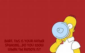 Funny Homer Simpson #wallpapers #widescreen #backgrounds ...