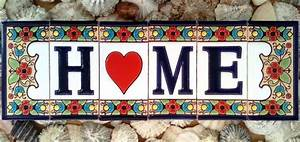 Vintage spanish ceramic letter tile ceramic letters house for Spanish letter tiles