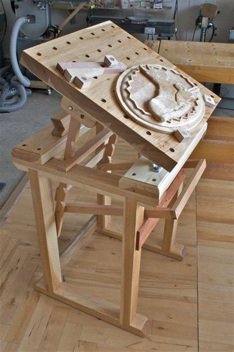 plans  wood carving bench woodworking projects plans