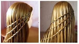 Coiffure Tresse Facile Cheveux Mi Long : tuto tresse cascade facile coiffure cheveux long mi ~ Melissatoandfro.com Idées de Décoration