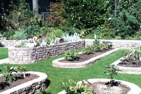 Garden Retaining Wall by Retaining Walls Abc Backyard Construction