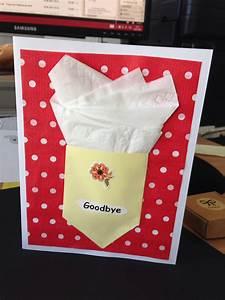 Karte Zum Abschied Einer Kollegin Basteln Geschenke