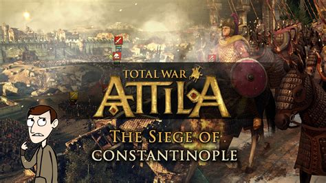 the siege of constantinople total war attila multiplayer battle gameplay the siege