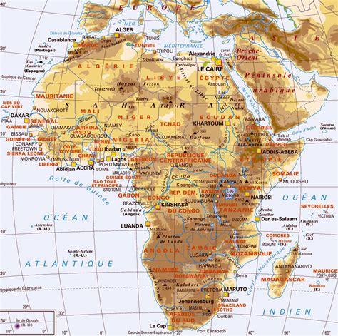 Carte Geographique Du Monde Hd by Carte Afrique Images Arts Et Voyages