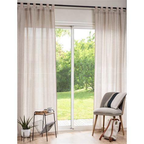 Vorhang Zum Binden by Vorhang Mit Schlaufen Zum Binden Wohn Design