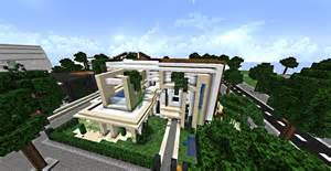 HD wallpapers maison moderne minecraft defroi