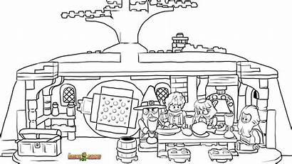 Lego Hobbit Coloring Pages Colouring Printable Sheets