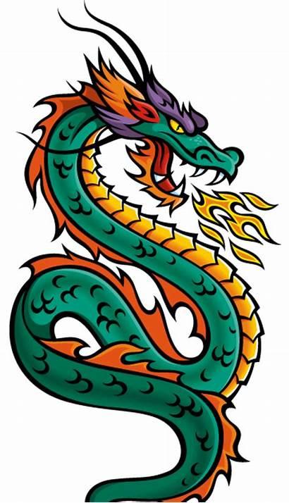 Dragon Tail Chinese Naga Ekor Daun Nu