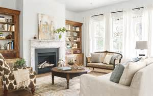 Country Livingrooms Crouch Farmhouse Southern Farmhouse Decorating Ideas