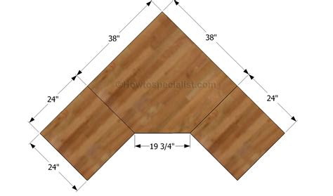 diy corner desk plans hey ana diy corner desk plans one and 1 4 sheet plywood