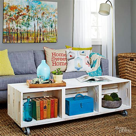 See more ideas about wine crate, wine crate table, crates. 11 DIY Wooden Crate Coffee Table Ideas