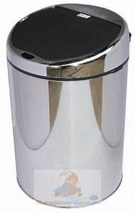 Mülleimer Mit Sensor : automatik m lleimer mit sensor edelstahl 4 liter abfalleimer kosmetikeimer bad ~ Whattoseeinmadrid.com Haus und Dekorationen