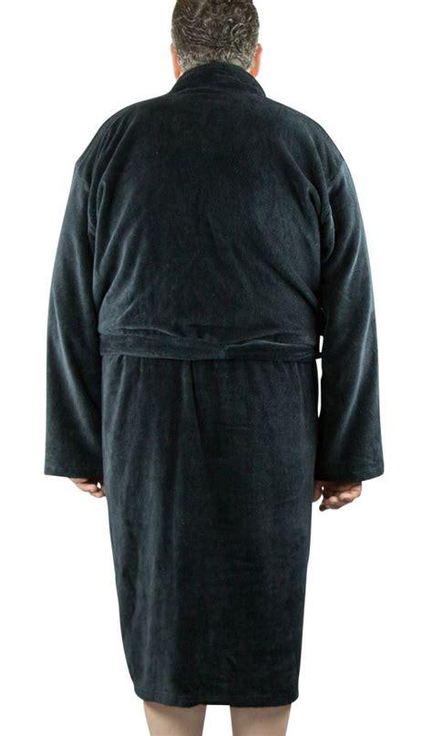 taille minimum chambre peignoir noir homme 100 coton grande taille all size