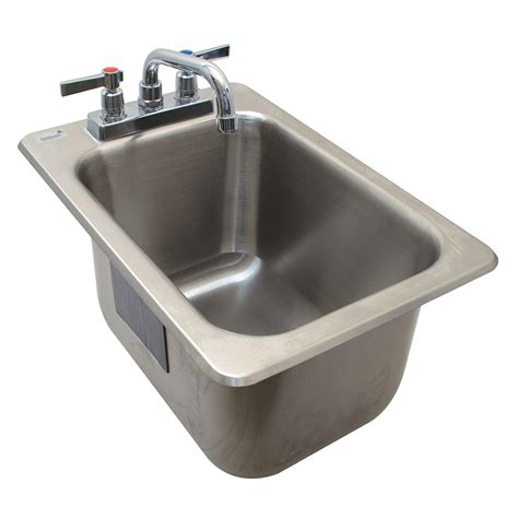 advance tabco drop in sink advance tabco dbs 1 1 compartment drop in sink 12 3125