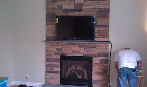Wallingford Ct Mount Tv Above Fireplace Home Theater